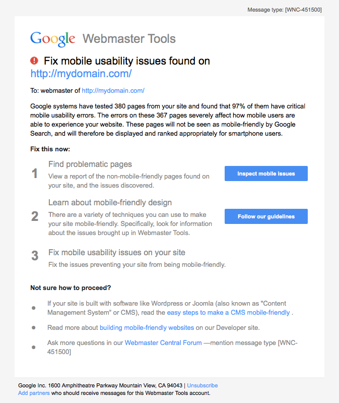 mobile-usability-email-from-google