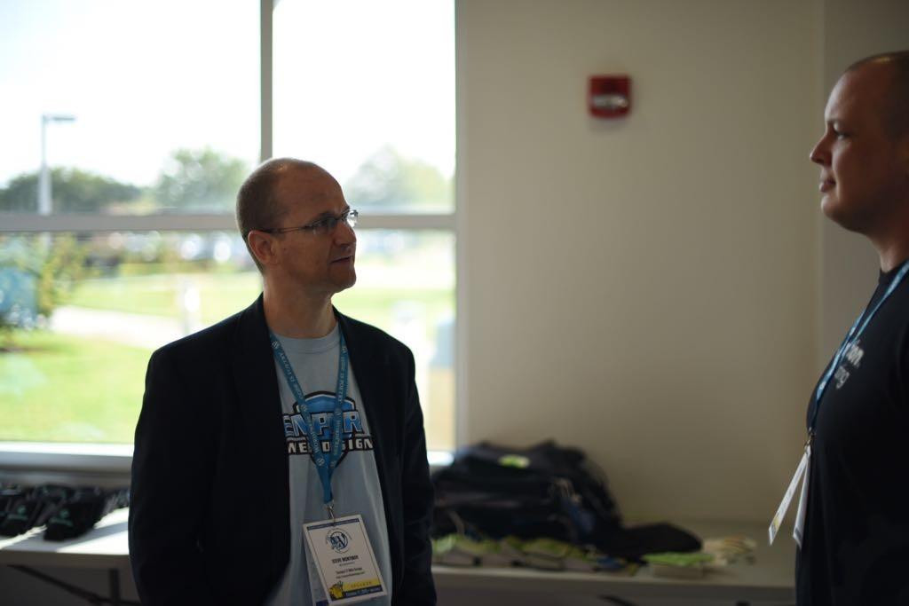 WordCamp Hampton Roads - Steve Mortiboy