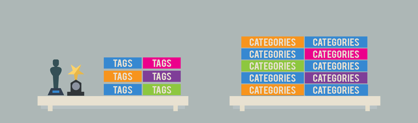 Learn how you can improve your site's SEO by effectively using categories and tags.