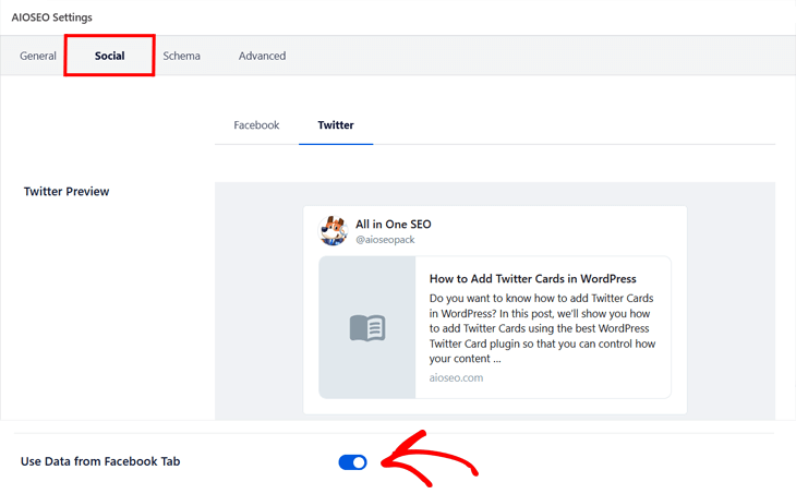 Changing the Twitter Card settings on individual posts and pages