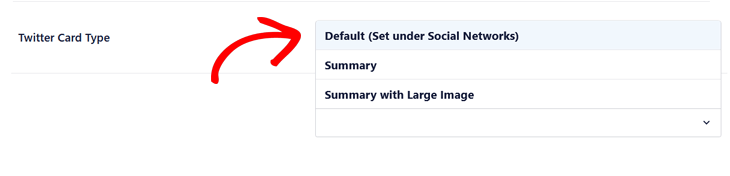 Setting Twitter Card Type for individual posts and pages