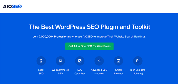 AIOSEO The Best WordPress SEO Plugin and Toolkit