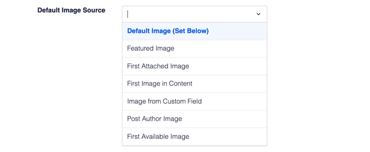 Default image source setting in AIOSEO