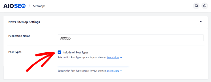 How to submit your WordPress site to Google News - include all post types in AIOSEO