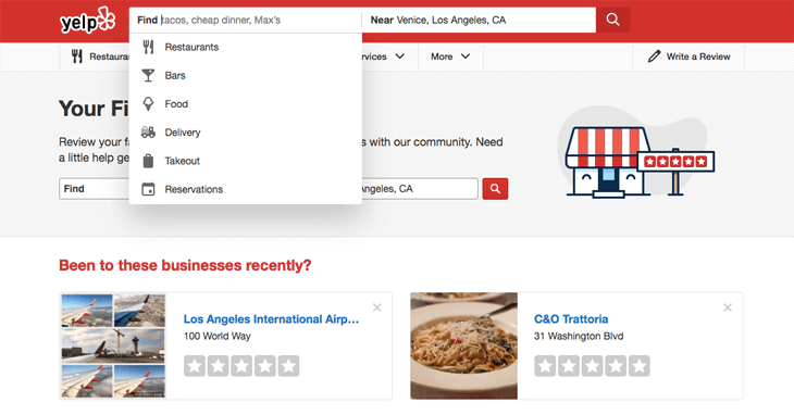 A complete local SEO checklist: Yelp business directory