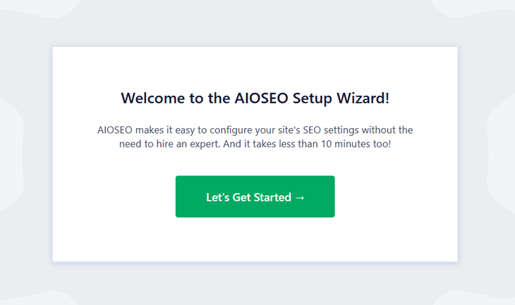 Welcome to AlOSEO's setup wizard