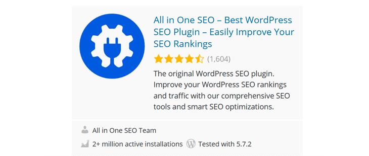 All in One SEO - Best WordPress SEO plugin