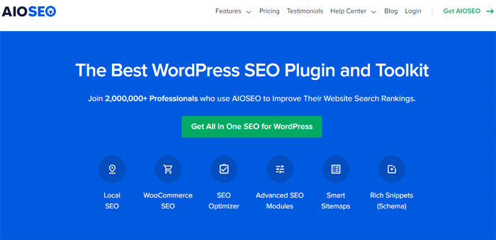 AIOSEO - Best WooCommerce SEO Plugins