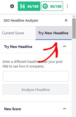 Try New Headline