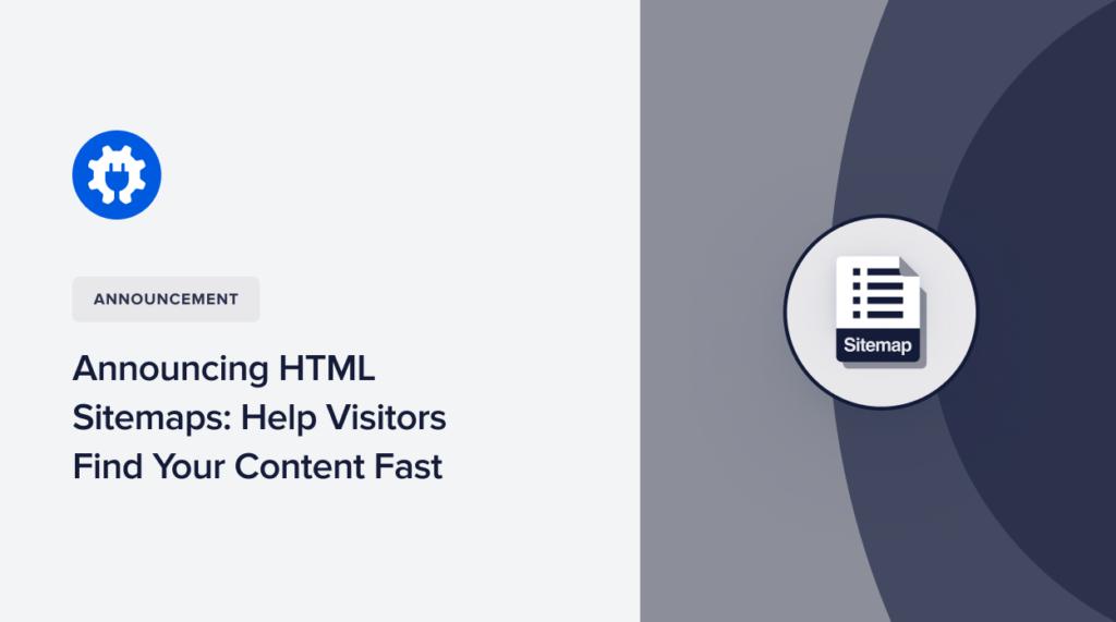 HTML Sitemaps